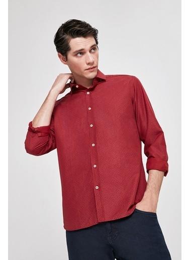 Damat Gömlek Kırmızı